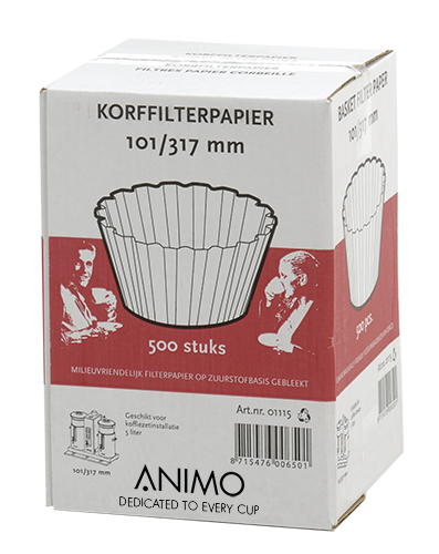 Korffilterpapier Animo 101/317