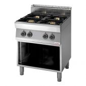 kooktafel modular 4 pits 70/70 gas