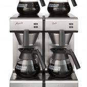 koffiezetapparaat glaskan dubbel bravilor mondo twin