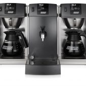 koffiezetapparaat 2 glaskannen heetwateraftap bravilor rlx 131
