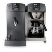 koffiezetapparaat glaskan heetwateraftap bravilor rlx 31