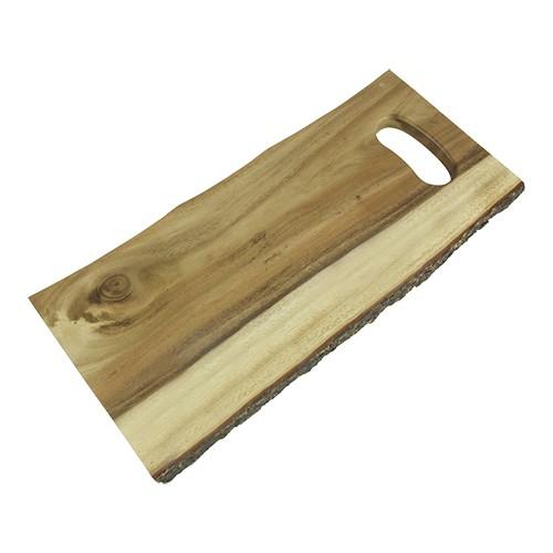 presentatie serveerplateau hout rechthoekig