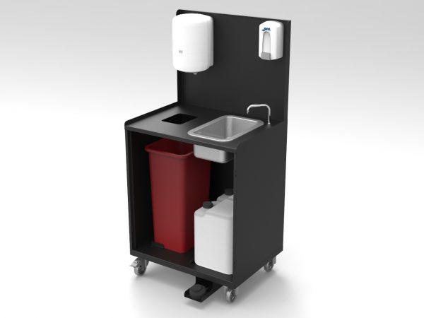 Mobiele handenwaskar